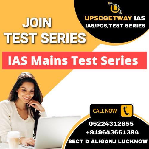 IAS Mains Test Series Online